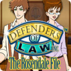 Defenders of Law: The Rosendale File igrica