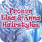 Frozen. Elsa and Anna Hairstyles igrica
