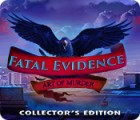 Fatal Evidence: Art of Murder Collector's Edition igrica