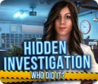 Hidden Investigation: Who Did It? igrica