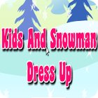 Kids And Snowman Dress Up igrica