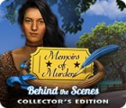 Memoirs of Murder: Behind the Scenes Collector's Edition igrica