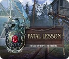 Mystery Trackers: Fatal Lesson Collector's Edition igrica