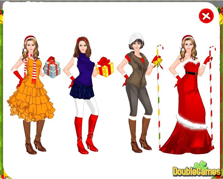 Free Download Christmas Gateway Dress Up Screenshot 3