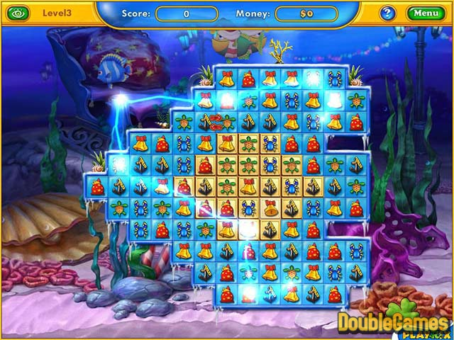 Free Download Fishdom: Frosty Splash Screenshot 1