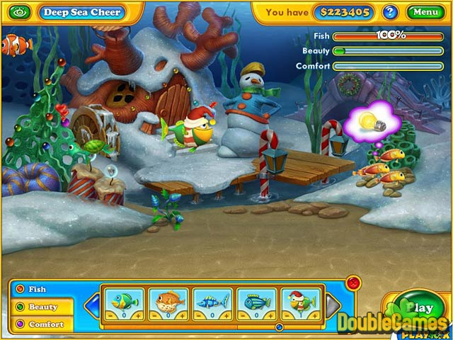 Free Download Fishdom: Frosty Splash Screenshot 2