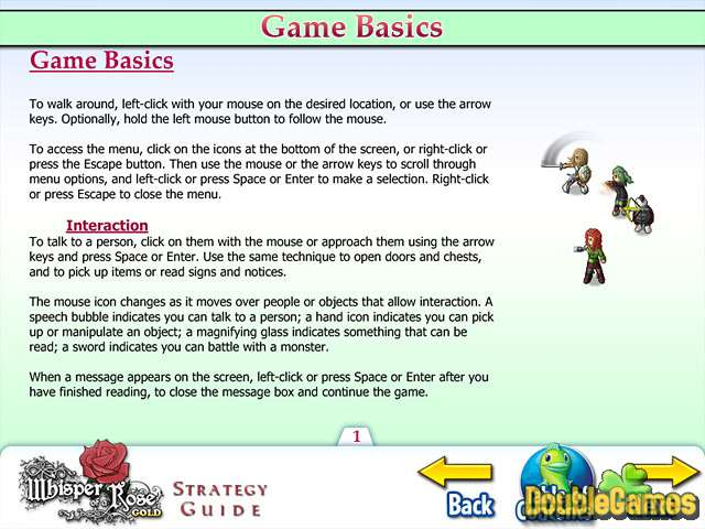 Free Download Whisper of a Rose Strategy Guide Screenshot 1