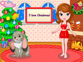 Besplatno download ekrana Princess Sofia Christmas Dressup 1